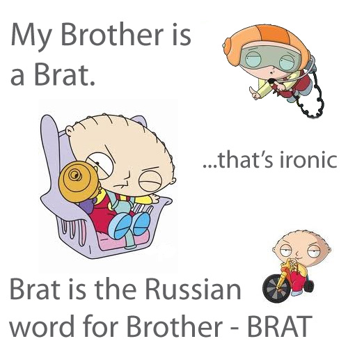 Brother in russian words