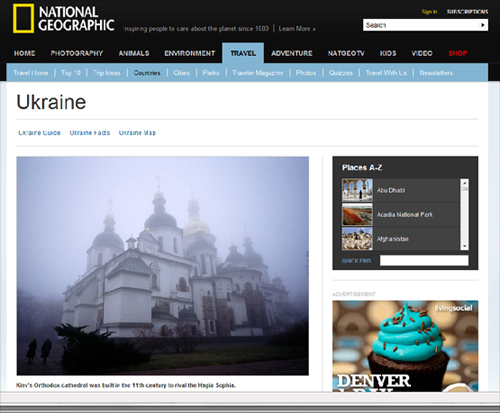 National Geographic of Ukraine